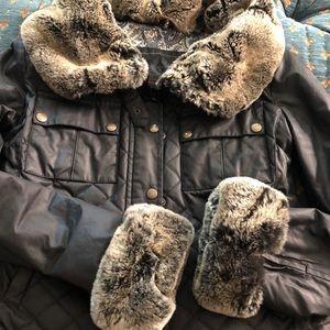 Belstaff Jacket with Real Fur